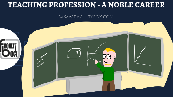 teaching profession - a noble career